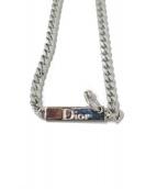 Christian Dior(クリスチャンディオール)の古着「喜平ロゴプレートブレスレット」