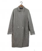 SONIA RYKIEL(ソニア リキエル)の古着「ダブルコート」|グレー