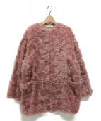 STELLA McCARTNEY(ステラ・マッカートニー)の古着「エコファーコート」|ピンク