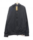 COLINA(コリーナ)の古着「SUPER140S WASHABLE WOOL W-PARK」|グレー