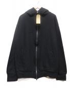 COLINA(コリーナ)の古着「SUPER140S WASHABLE WOOL W-PARK」|ブラック×ブラウン