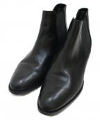 Odette e Odile(オデットエオディール)の古着「サイドゴアブーツ」|ブラック