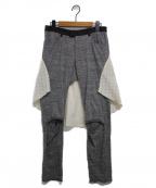 UNDERCOVER(アンダーカバー)の古着「ドッキングパンツ」|グレー