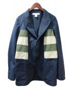COMME des GARCONS SHIRT(コムデギャルソンシャツ)の古着「テーラードジャケット」|ネイビー