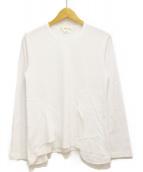 COMME des GARCONS(コムデギャルソン)の古着「パッチカットソー」 ホワイト