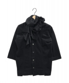 tricot COMME des GARCONS(トリコ コムデギャルソン)の古着「フリルシャツ」|ブラック