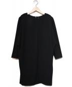 CLANE(クラネ)の古着「ドルマンコクーンワンピース」|ブラック