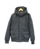 NAPAPIJRI(ナパピリ)の古着「フーデッドジャケット」|グレー