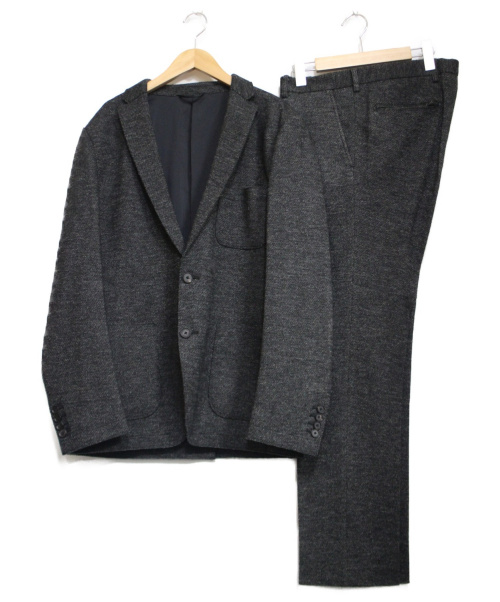 JOSEPH HOMME(ジョセフオム)JOSEPH HOMME (ジョセフオム) ウールセットアップスーツ ブラック サイズ:50の古着・服飾アイテム