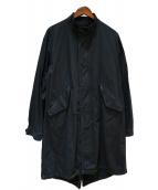 J.S HOMESTEAD(ジャーナルスタンダードホームステッド)の古着「ライナー付モッズコート」|ブラック