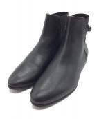 FABIO RUSCONI(ファビオルスコーニ)の古着「バックゴアブーツ」|ブラック