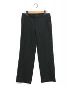 YOKO CHAN(ヨーコチャン)の古着「ウールパンツ」|ブラック