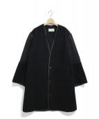 Maison Margiela 4(メゾンマルジェラ4)の古着「異素材ハイブリットコート」|ブラック
