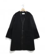 Maison Margiela 4(メゾンマルジェラ4)の古着「異素材ハイブリットコート」 ブラック