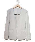 NARA CAMICIE(ナラカミーチェ)の古着「ノーカラージャケット」|グレー