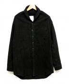 whowhat(フーワット)の古着「コットンシャツジャケット」|ブラック