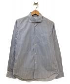 Sans limite(サンリミット)の古着「ストライプシャツ」|ブルー