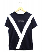 yoshio kubo(ヨシオクボ)の古着「Synthetic Tシャツ」|ネイビー