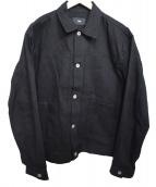 Rags McGREGOR(ラグスマックレガー)の古着「DENIM WORK JKT」|ブラック