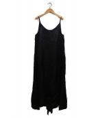Deuxieme Classe(ドゥーズィエムクラス)の古着「グロッシードレス」|ブラック