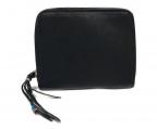 BRU NA BOINNE(ブルーナボイン)の古着「ラウンドファスナー財布」|ブラック