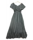MARIHA(マリハ)の古着「ワルツのドレス」 ブラック
