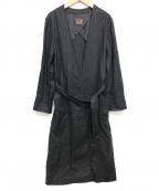 Demi-Luxe Beams(デミルクス ビームス)の古着「リネンキャンバスコート」 ブラック