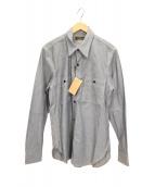 Muller & Bros(ミューラーアンドブロス)の古着「ワークシャツ」 インディゴ