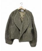 toteme(トーテム)の古着「BELLAC FAUX FUR SHORT」|ベージュ