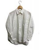 1er Arrondissement(プルミエ アロンディスモン)の古着「ジルワンダーコットンシャツ」|ホワイト
