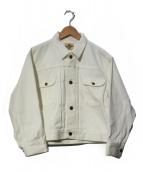 Wrangler×Ron Herman(ラングラー×ロンハーマン)の古着「ロンハーマン別注デニムジャケット」|ホワイト