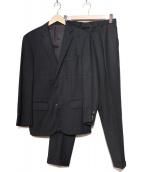 BOSS HUGO BOSS(ボスヒューゴボス)の古着「セットアッップ2Bスーツ」|グレー