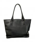 土屋鞄(ツチヤカバン)の古着「レザーバッグ」 ブラック