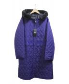 SONIA RYKIEL(ソニアリキエル)の古着「リバーシブルコート」|パープル