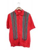 Supreme(シュプリーム)の古着「ニットポロシャツ」|レッド