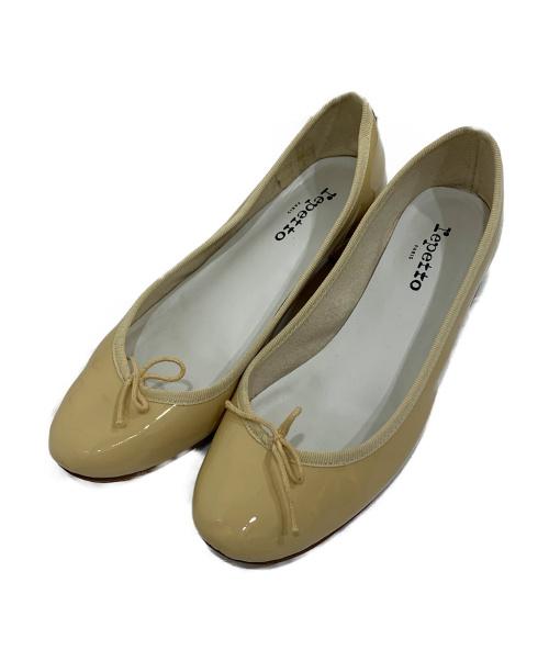 repetto(レペット)Repetto (レペット) エナメルパンプス アイボリー サイズ:40 1/2の古着・服飾アイテム