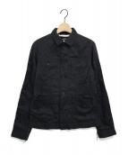 tricot COMME des GARCONS(トリコ コムデギャルソン)の古着「キュプラジャケット」|ブラック