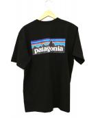 Patagonia(パタゴニア)の古着「P-6 Logo Pocket Responsibili-T」|ブラック