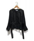 ADORE(アドーア)の古着「モダールエステルジャケット」|ブラック