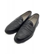 ALDEN(オールデン)の古着「コインローファー」|ブラック