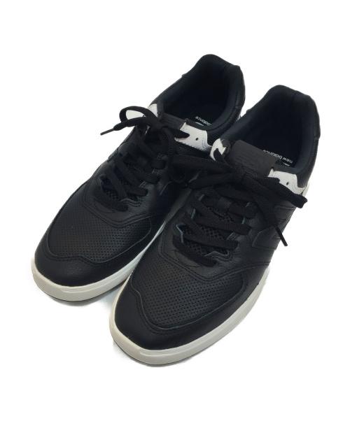 NEW BALANCE(ニューバランス)NEW BALANCE (ニュー・バランス) ローカットスニーカー ブラック×ホワイト サイズ:26cm AM574PBGの古着・服飾アイテム