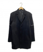 STAMPD(スタンプド)の古着「比翼ウールジャケット」|ブラック