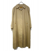 Burberrys(バーバリーズ)の古着「オールドライナー付ステンカラーコート」 ベージュ