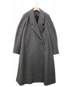 LEMAIRE(ルメール)の古着「ラグランスリーブフレアコート」|グレー