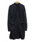 N4(エヌフォー)の古着「ナイロンコート」 ネイビー