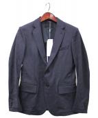 junhashimoto(ジュンハシモト)の古着「JERSEY JACKET」|ネイビー