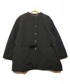 atmos pink(アトモスピンク)の古着「カスレリバーシブルコート」|ブラック×グレー