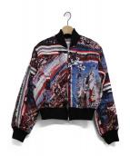 Jean Paul GAULTIER(ジャンポールゴルチェ)の古着「総柄中綿ジャケット」|ブラック