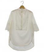 3.1 phillip lim(スリーワンフィリップリム)の古着「プルオーバーシャツ」|ホワイト