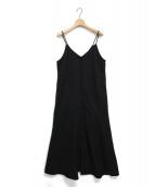 MilaOwen(ミラオーウェン)の古着「2Wayキャミソールワンピース」|ブラック